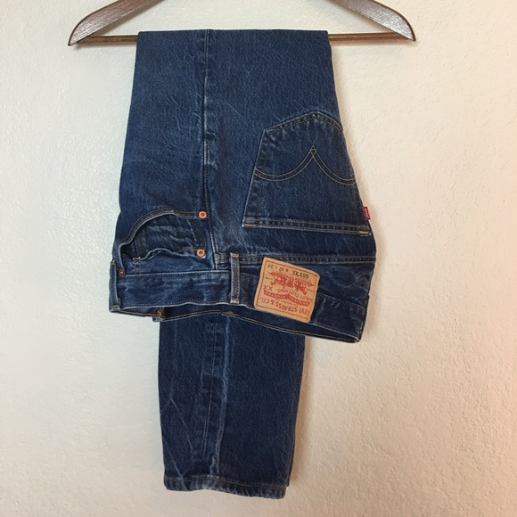 Levis Jeans Levis 501 Xx Shrink To Fit Button Fly Poshmark